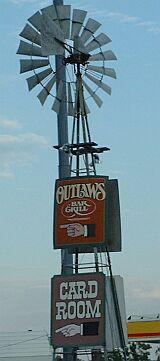 Outlaws atascadero sign