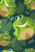 Frog Print Habitat