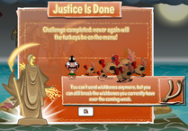 JusticeIsDone Pop Up PG Facebook