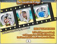 Cocodrink fridge pop up