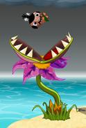 Flytrap throwing