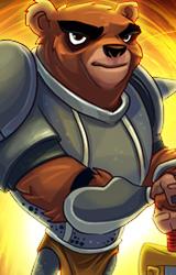 PL bear badge