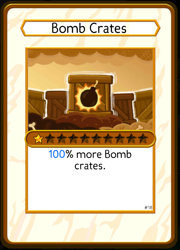 Bomb Crates (Card) (Pocket Mine 2) | Pocket Mine Wiki