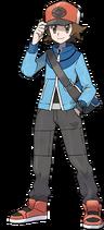Entrenador masculino Pokémon Black and White-1-