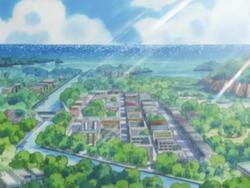 Slateport City anime