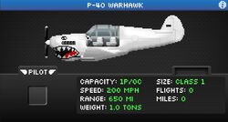 P-40warhawk