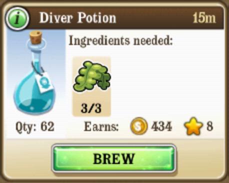 Diver Potion