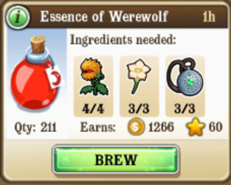 Essense of Werewolf