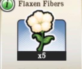 Flaxen Fibers