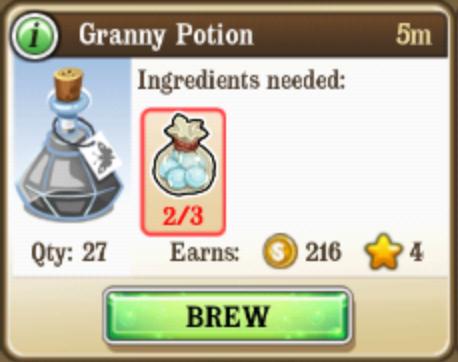 Granny Potion