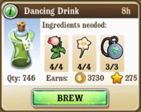Dancing Drink