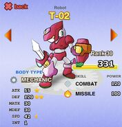 T-02 (COMBAT MODE Red) cr