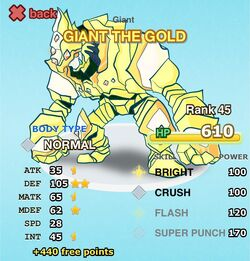 GIANT THE GOLD cr