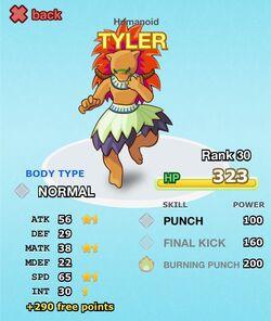 TYLER cr