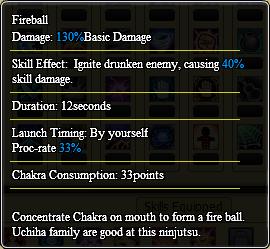 Fireball info
