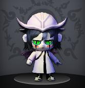 Pockie Ninja White Ulquiorra Avatar