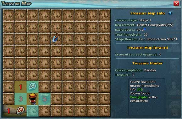 Soul of Sea - Treasure Map