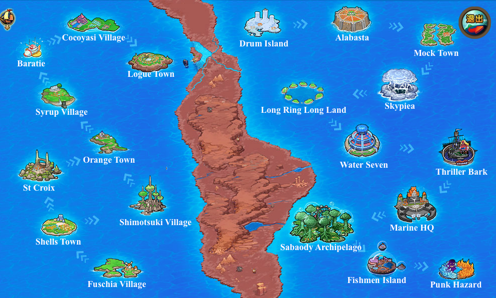 Map Of The World Of One Piece.Map Pockie Pirate Wiki Fandom Powered By Wikia