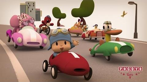 Pocoyo & Cars The Great Race! 20 minutes special