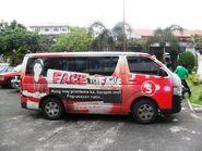 TV5 Face to Face in Daraga, Albay van
