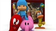 Pocoyo and Friends amazed