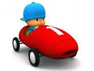 Images pocoyo ferrari car racing