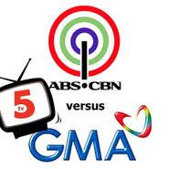 ABS-CBN GMA TV5 copy
