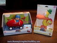Pocoyo toys drum race car