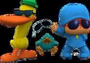 Pocoyo4 baby bird pato