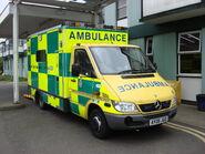 East of England emergency ambulance