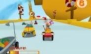 Pocoyo racing trailer a la venta el 18 de noviembre de 2011