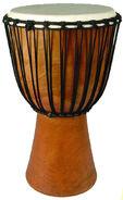 Lg DJEMBE drum