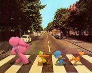 Abbeyroad,beatles,pocoyo traffic-ddc0489010e09daf21e4799392c3f251 h