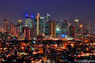 MAKATI CITY SKYLINE by astroworks