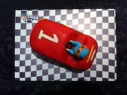 Pocoyo racing cars race