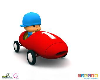Pocoyo S Racing Car Pocoyo Wiki Fandom