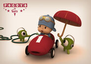 Pocoyo boxes 500x350 car racing
