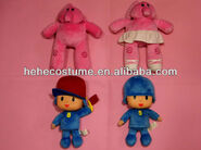 Cheap plush pocoyo hand puppet pocoyo toy for kids