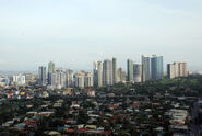 Taguig city skyline