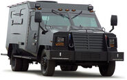 Armored SWAT truck