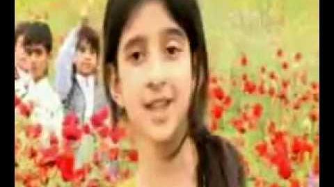 Afghan child Shukufa Orifiyon - Da zemong zeba watan Poetry by Malang Jan Baba