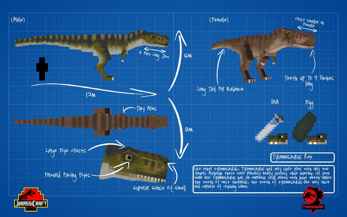 Image jurassicraft blueprint tyrannosaurus by jurassicraft d8q9f6g jurassicraft blueprint tyrannosaurus by jurassicraft d8q9f6gg malvernweather Choice Image