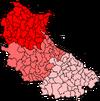GRAILA Condado Mapa