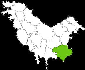 IULIA Condado en Pohlania