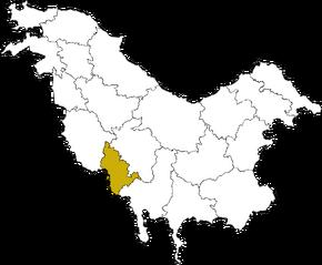 DROBICE Condado en Pohlania