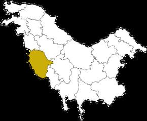 ZINA Condado en Pohlania