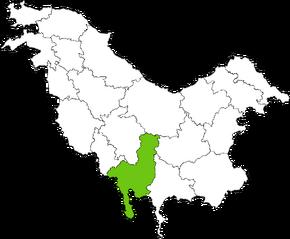 VARAD Condado en Pohlania