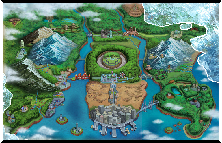 Unova pokemon wiki fandom powered by wikia the concept art of the unova region in pokmon black 2 and white 2 gumiabroncs Images