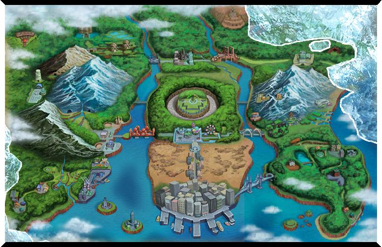 Unova pokemon wiki fandom powered by wikia the concept art of the unova region in pokmon black 2 and white 2 gumiabroncs Gallery