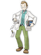 Prof Elm ilustracion HGSS